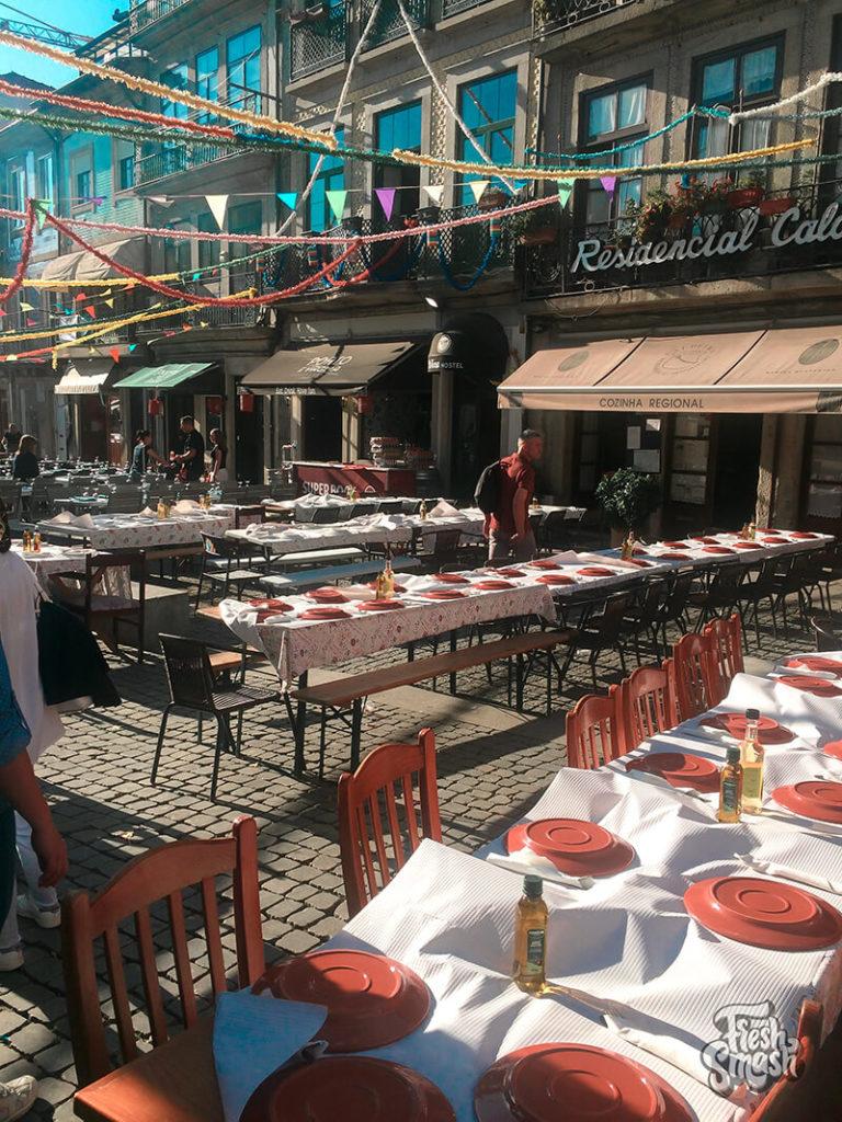 Праздник в Порту